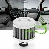 13mm Car Cold Air Intake Filter Kit Round Crank Case EngIne Breather Air Filter