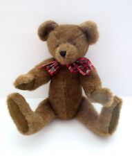 """The Boyds Collection 1990/1996 Jointed 16"""" Teddy Bear Plush Stuffed Toy Animal"""
