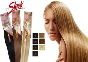 """Sleek Luxury EW Indian Human Hair Extension Available in-14"""" to 20""""-Free UK Post"""