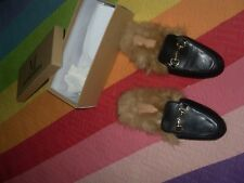 ZAPATOS Slippers Peludas nºRF zapato pelo dentro the fame monster Fuenlabrada 36