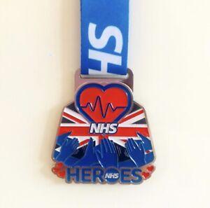NHS Medal Charity Virtual Race 5k 10k Half And Full Marathon