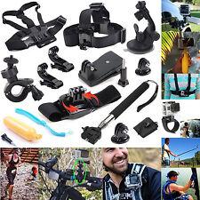 12 In 1 Outdoor Accessories Set Kit For GoPro Hero 4 3+ 3 2 1 SJcam SJ4000 Cam