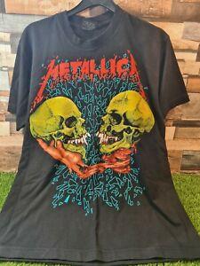 Rare Vintage Metallica T Shirt Sad But True  Black Mens Metal Rock Merch Medium