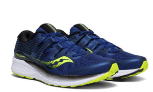 Saucony Ride Iso Taille US 12.5 M (D) EU 47 Homme Chaussures Course Marine
