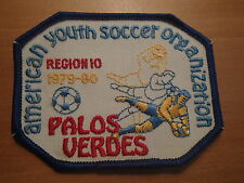 VINTAGE-AYSO Palos Verdes-YOUTH SOCCER-1979-80 Region 10 Patch-NEW CONDITION