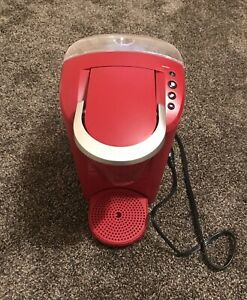 Keurig K-35 K-Compact Single-Serve K-Cup Pod Coffee Maker Red Great Condition!