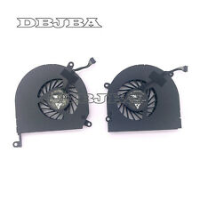 "Genuine CPU Apple Macbook Pro A1286 15"" CPU Cooling Fan 2009 -2011 Left + Right"