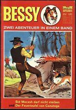 Bessy Doppelband Nr.16 von 1970 - BASTEI WESTERN COMICHEFT Willy Vandersteen