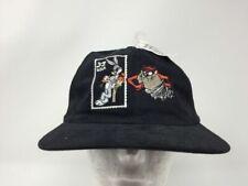 Looney Tunes Bugs Bunny Taz Tasmanian Collectors USPS 32 Stamp Snapback Hat 1997