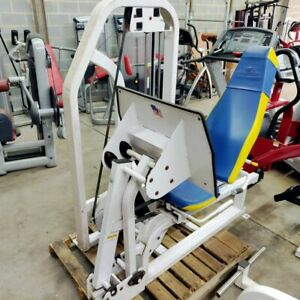 Nautilus Leg Press Commercial Grade Selectorized Strength Machine