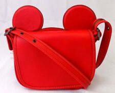 Paypal Coach Bag F59369 Patricia Saddle in Calf Leather Mickey Ears Agsbeagle
