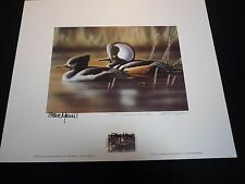 NEW HAMPSHIRE  #11 1993  DUCK  STAMP PRINT  GOVERNOR'S EDITION Richard Clifton