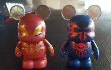 Disney Marvel Avengers Infinity War Stark Iron Spiderman and Spider-Man 2099