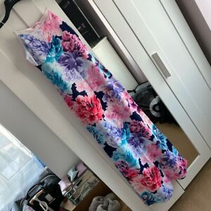 Pink Boutique Floral Maxi Dress 6/8