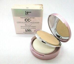 It Cosmetics Airbrush Perfecting Powder Illumination 50 + ~ Light ~ .33 Oz