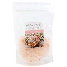 100g Bolsa de Rosa del Himalaya Sal de Baño utilizado para suavizar y suave de la piel