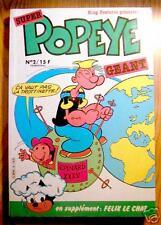 SUPER POPEYE GEANT n° 2 trimestriel 1983