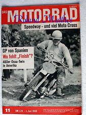 DAS MOTORRAD 11-68+YANKEE TWIN+500 ccm MOTO CROSS MASCHINEN+GP SPANIEN