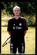 Seppo Eichhorn Super ak foto bayern munich 2004-05 (1) ORIG. firmado