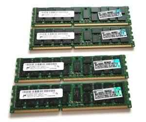 32GB (4 x 8GB) DDR3 REG ECC RAM - HP / Micron PC3-10600R for HP ProLiant Server