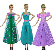 2017 New feature Court dresses Handmake Princess clothes For barbie Doll