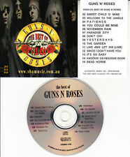 GUNS 'N' ROSES  BEST OF GREATEST HITS VCD MUSIC VIDEOS incl Sweet Child O' Mine