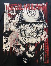 Metal Mulisha Extreme Sports, Motocross Skull T Shirt (Rare) Black Size M