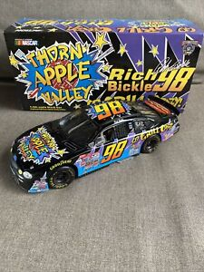 1998 Rich Bickle #98 Thorn Apple Valley Go Grill Crazy 1:24 NASCAR Action