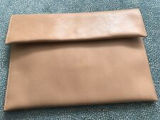 Marni - Camel Leather Retangular Leather Clutch Bag