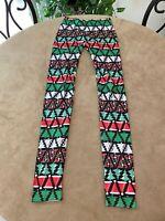 No Boundaries Women's Size XS Christmas Holiday Leggings Stretchy