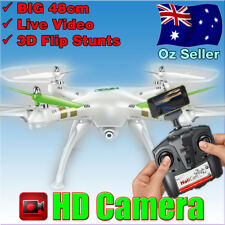 2.4GHz 6Axis 4CH Quadcopter Gyro RC Helicopter Drone with Video Camera 360 Flips