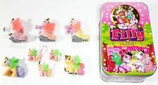 Simba / Dracco Filly Fairy / Ice Tinbox with 8 Fairies Tin Can/Babies