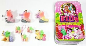Simba / Dracco Filly Fairy / Ice Tinbox With 8 Fairies Tin Can / Babys