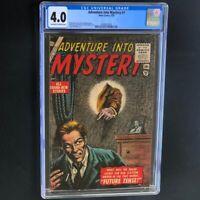 Adventure into Mystery #1 (1956) 💥 CGC 4.0 OW-W 💥 Bill Everett Atlas Comic
