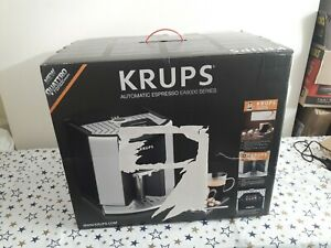 Krups EA907D40 Automatic Espresso Bean to Cup Coffee Machine Silver Barista NEW
