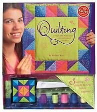 Quilting : Design and Make Your Own Patchwork Projects Age 10 - 14 Klutz Kane