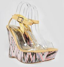 """SANKY-2 New Fashion 5 inch High Heel 2"""" Platform Women Party Shoes Nude 7.5"""