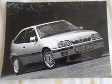 Opel Kadett Champion 2.0 GSi press photo Jan 1990 Italian text