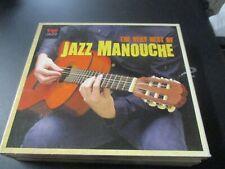 "COFFRET 5 CD ""THE VERY BEST OF JAZZ MANOUCHE"""