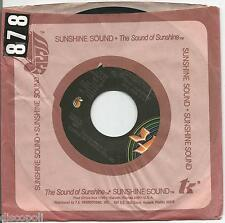 """KC AND THE SUNSHINE BAND - Do you wanna go party - VINYL 7"""" 45 LP US 1979 VG+ /G"""