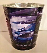 Power Rangers 2017 Movie Theater Exclusive Metal Embossed 130 oz Popcorn Tin #3