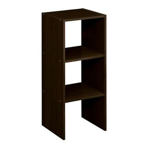 ClosetMaid Decorative Home Stackable 2-Cube Organizer Storage 31-Inch, Espresso