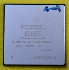SONY BROADBAND ENGINE ENGINEERING SAMPLE PROCESSOR HIRAME NOS PLAYSTATION 3 CPU