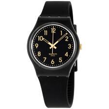 Swatch Originals Quartz Movement Black Dial Unisex Watch GB274