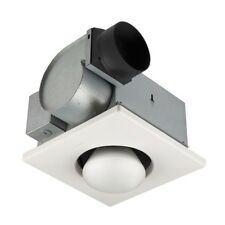 Bathroom Vent Fan With Light Ceiling Heater One Bulb Bath Infrared Ventilation