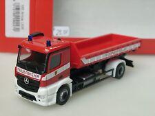 Herpa Mercedes Antos Pompier NEUSS, Chargeurs amovibles - 092470 - 1/87