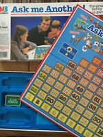 Vintage 1983/1984 MB GAMES - ASK ME ANOTHER ! Board game - The Great Family Quiz