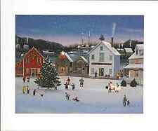 """Sally Caldwell-Fisher - """"Decorating the Wharf"""", hand signed, serigraph"""