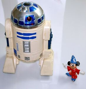 "Vintage STAR WARS 1983 RARE R2D2  8"" Electronic Droid robot Meccano 21cm"
