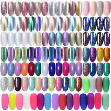 6ml BORN PRETTY UV LED Glitter Sequins Gel Nail Polish Soak Off Topcoat Varnish